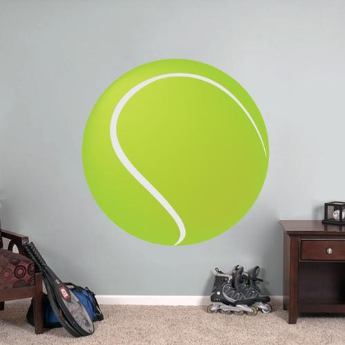 Sweetums Printed Tennis Ball Wall Decal