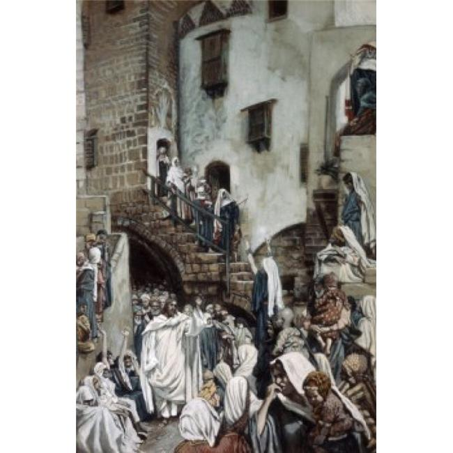 Posterazzi SAL9999160 The Woman Who Lifted Up Her Voice James Tissot 1836-1902 French Poster Print - 18 x 24 in. - image 1 of 1