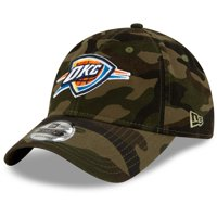 Oklahoma City Thunder New Era Primary Logo Core Classic 9TWENTY Adjustable Hat - Camo - OSFA
