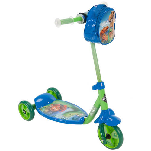 Huffy Boys' Good Dinosaur 3-Wheel Scooter