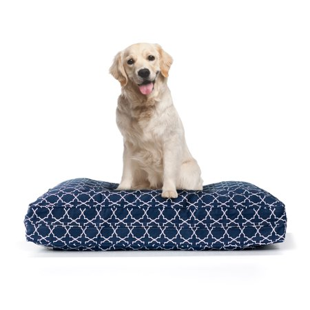 Dog Bed with Deluxe Cluster Fiber Filling