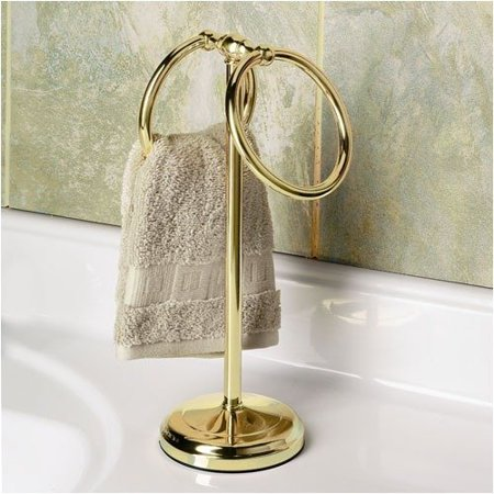 Countertop Towel Ring : Gatco Countertop Towel Ring in Polished Brass - Walmart.com