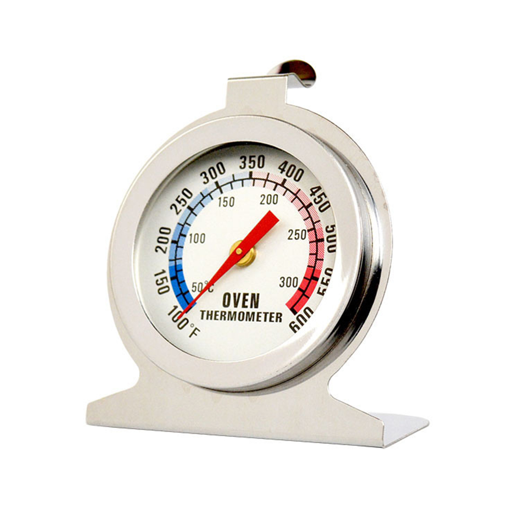 Jeobest Oven Temperature Thermometer - Home Food Meat Stainless Steel Temperature Stand Up Dial Oven Thermometer Gauge Kitchen Baking Supplies MZ