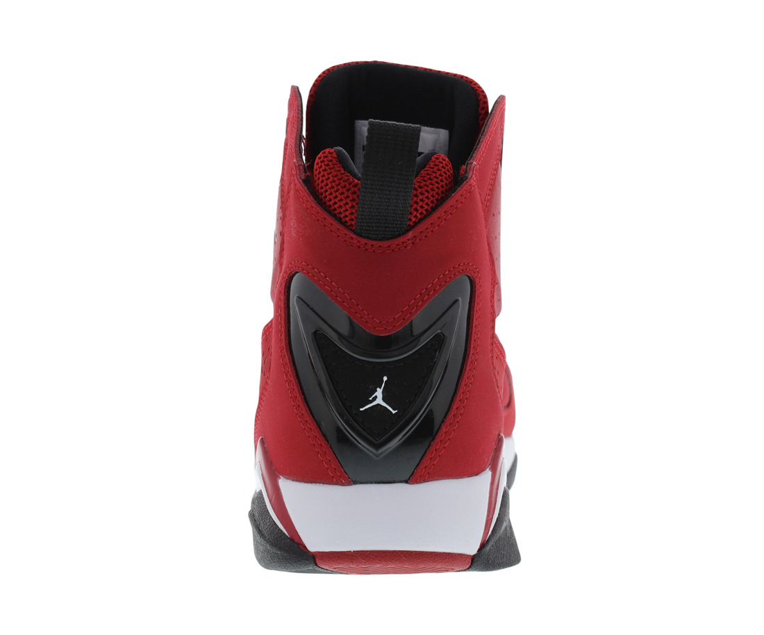 Mens Air Jordan True Flight Gym Red White Black 342964-620