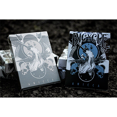 Anicca Deck (Metallic Blue) by Card Experiment - Trick
