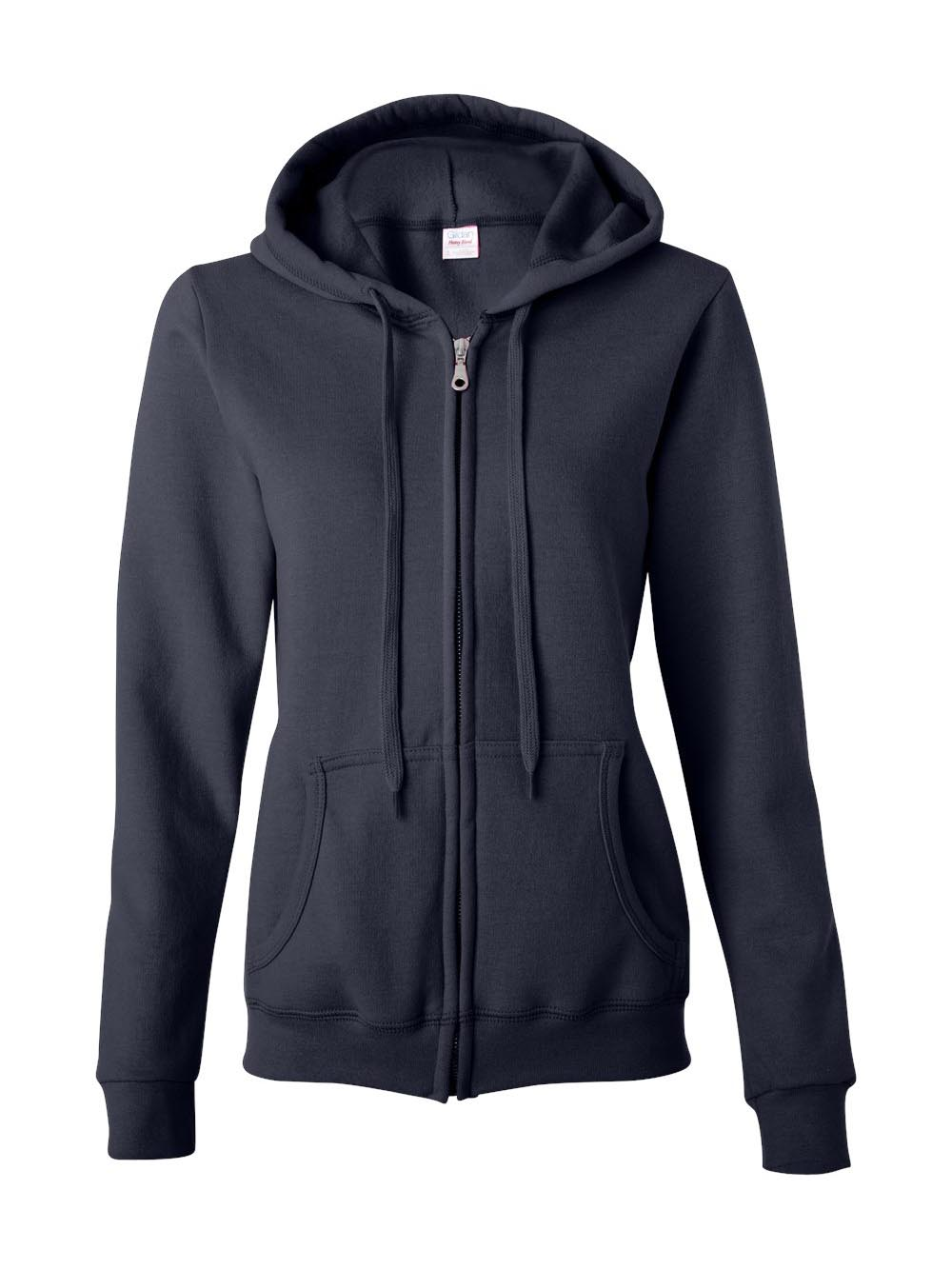 Gildan - Heavy Blend Women's Full-Zip Hooded Sweatshirt - 18600FL