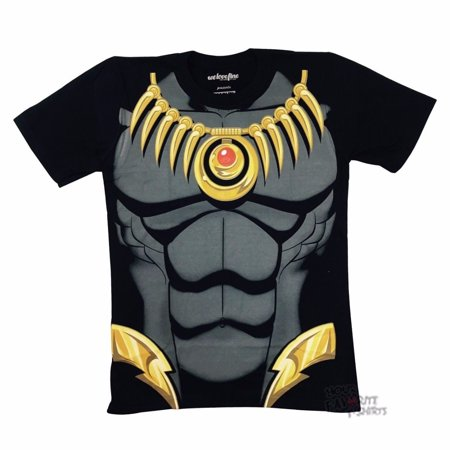 Black Panther I Am Costume Avengers Marvel Comics Licensed Adult Shirt S-3XL