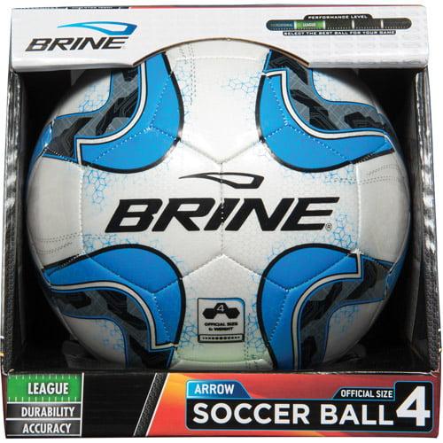 Brine Arrow Soccer Ball, Blue, Size 5
