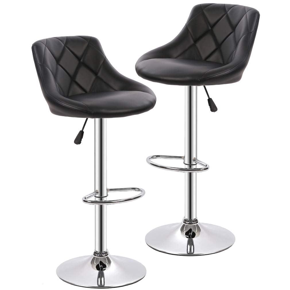 bar stools barstools swivel stool set of 2 height