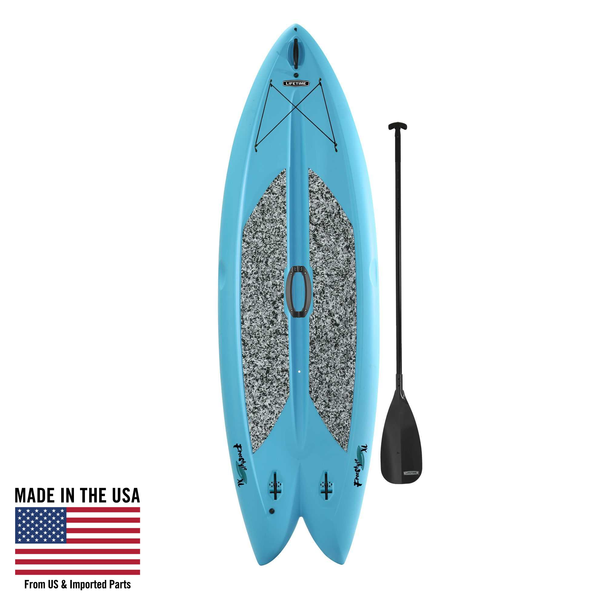 Lifetime Freestyle XL™ 98 Paddleboard (Paddle Included), Glacier Blue, 90531