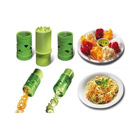 VEGGIE MAGICAL SLICER And Salad Decorator