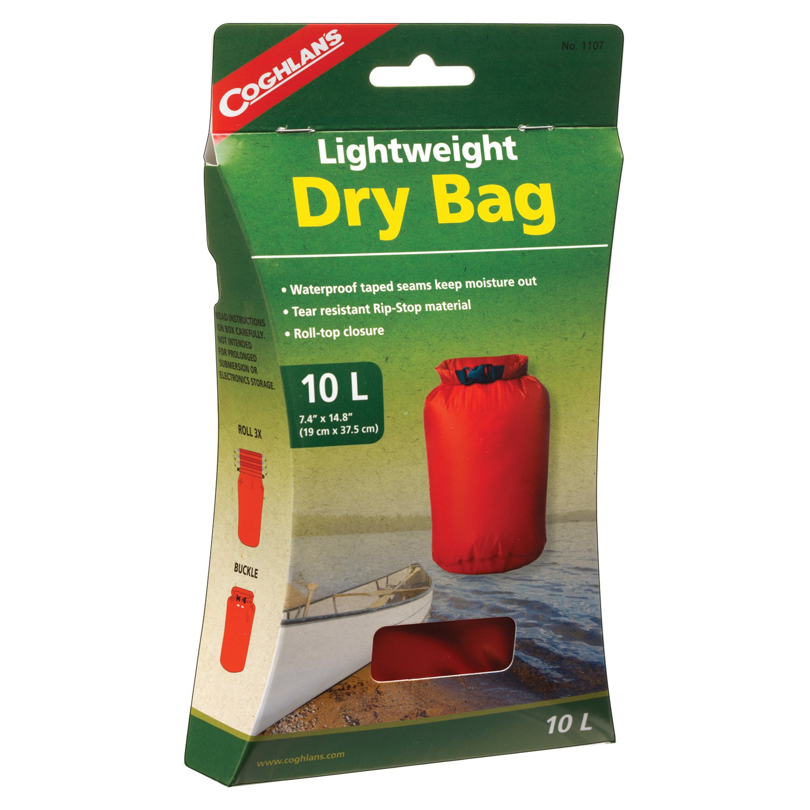 Coghlan's 1107 10 Liter Lightweight Dry Bag