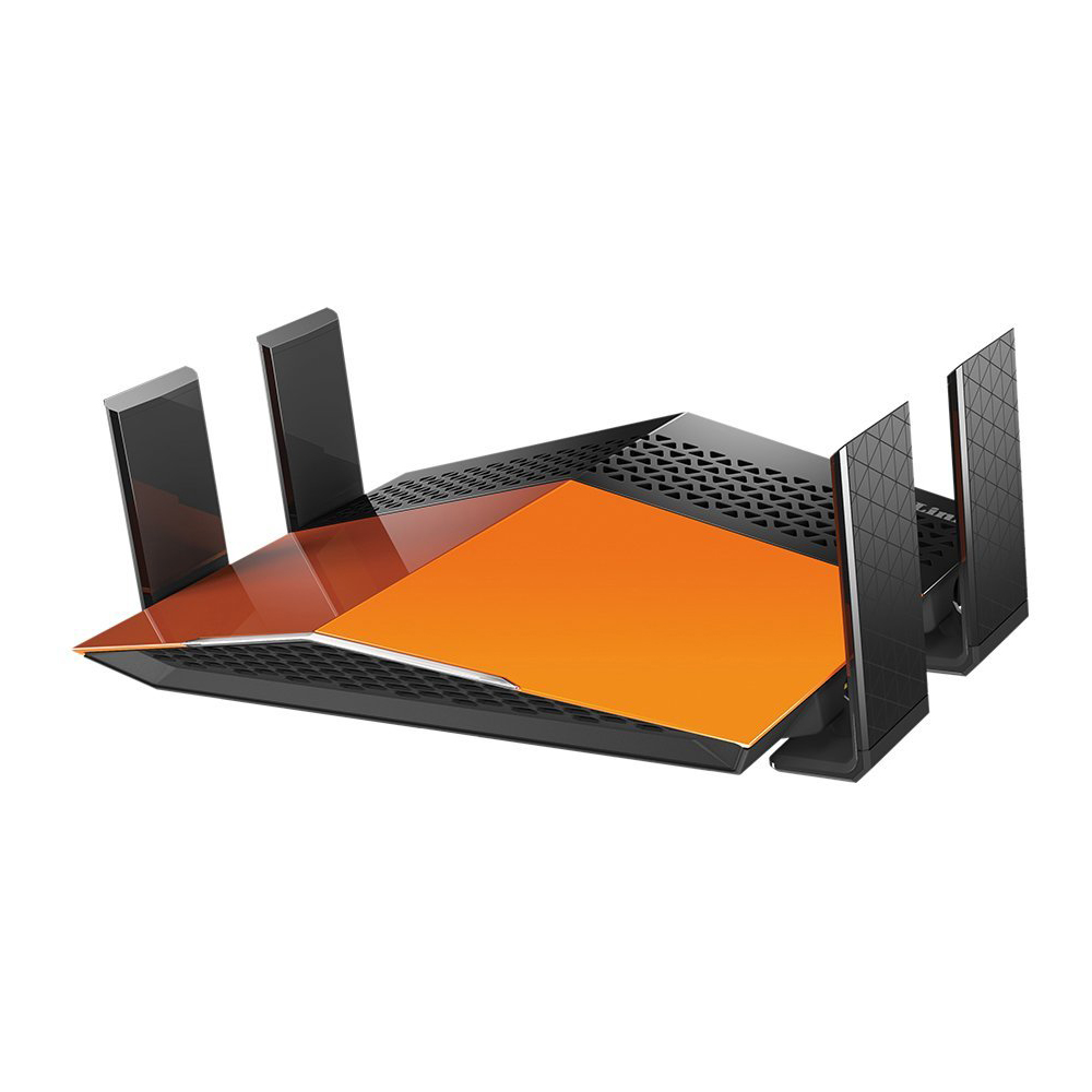 Refurbished D-Link Wireless AC1900 EXO Dual Band 4 Port Gigabit WiFi Router -