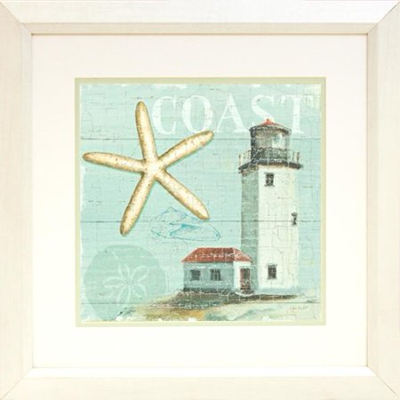 buyartforless Beach House II by Lisa Audit Framed Wall Poster - Lisa Frame