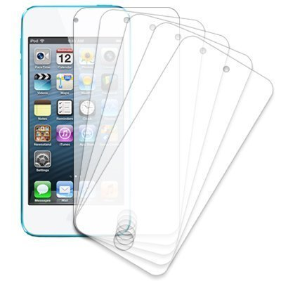 - Importer520 Collection 5 Pack of Anti-Glare & Anti-Fingerprint (Matte) Screen Protectors for Apple iPod Touch 5th 6th Generation