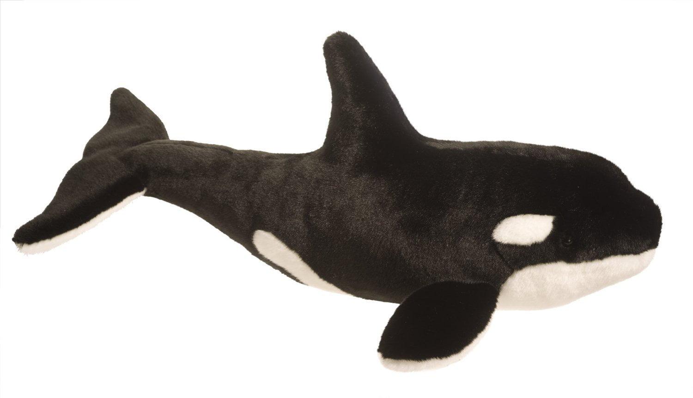 "Douglas Cuddle Toys Orca Whale Plush Toy 24"" Long by Douglas Toys"