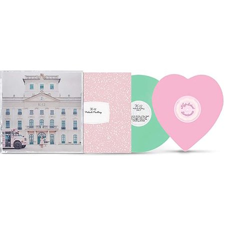 K-12 - Exclusive Limited Edition Mint Green And Pink Heart Shaped 2x LP Vinyl [lp_record] Melanie Martinez Heart Limited Edition