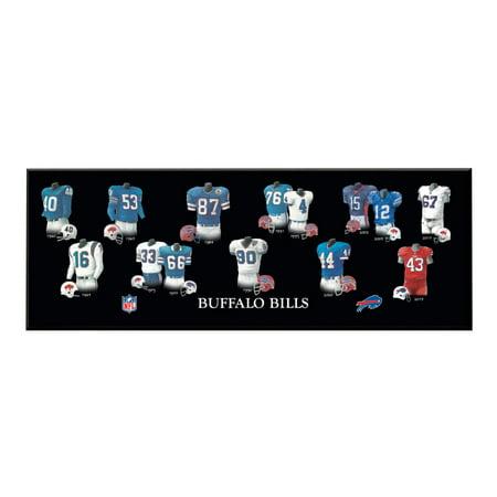 Winning Streak - NFL Uniform Plaque, Buffalo Bills