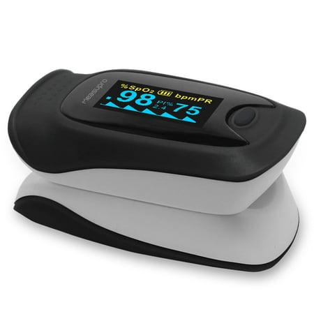 Measupro Ox200 Instant Read Finger Pulse Oximeter  Blood Oxygen Spo2  Us Seller