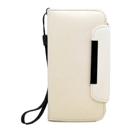 Insten Leather Wallet Flip Credit Card Pouch Case Cover For Apple iPhone 5 / 5S -