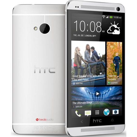 Refurbished HTC PN07120 One (M7) 4G with 32GB Memory Cell Phone - Silver (AT&T) ()