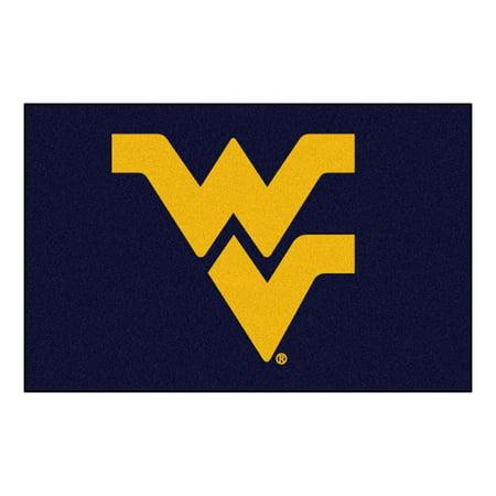 NCAA West Virginia University Mountaineers Starter Mat Rectangular Area Rug