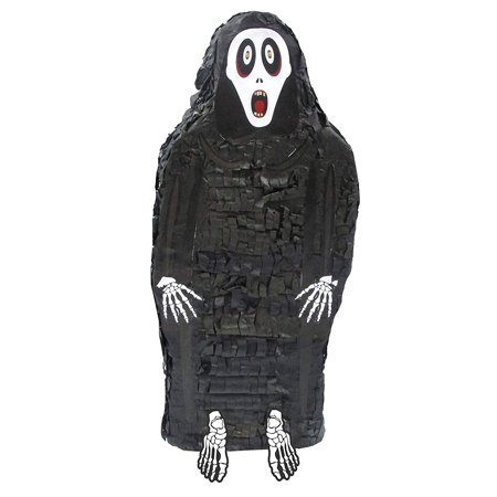 Creepy Grim Reaper Pinata - Halloween Party Game, Photo Prop and Decoration