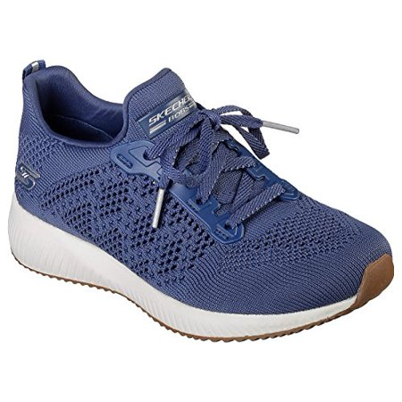 Details about Womens Skechers BOBS Sports Durable Talk Lace Up Memory Foam Trainers 32504 show original title