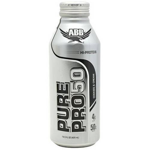 Image of ABB Pure Pro Pro 50, Cookies & Cream, 12 CT