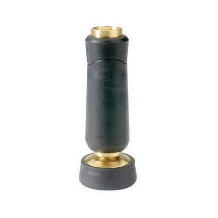 Solid Brass Barrel Twist - Fiskars Brands 805282-1001 Hose Nozzle, Twist, Solid Brass, Full-Size