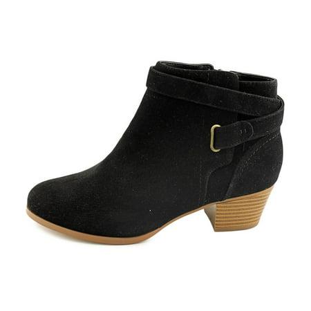 Giani Bernini Womens Oleesia Leather Closed Toe Ankle Boots Black Suede Size 6.0 kek9am4Ycr
