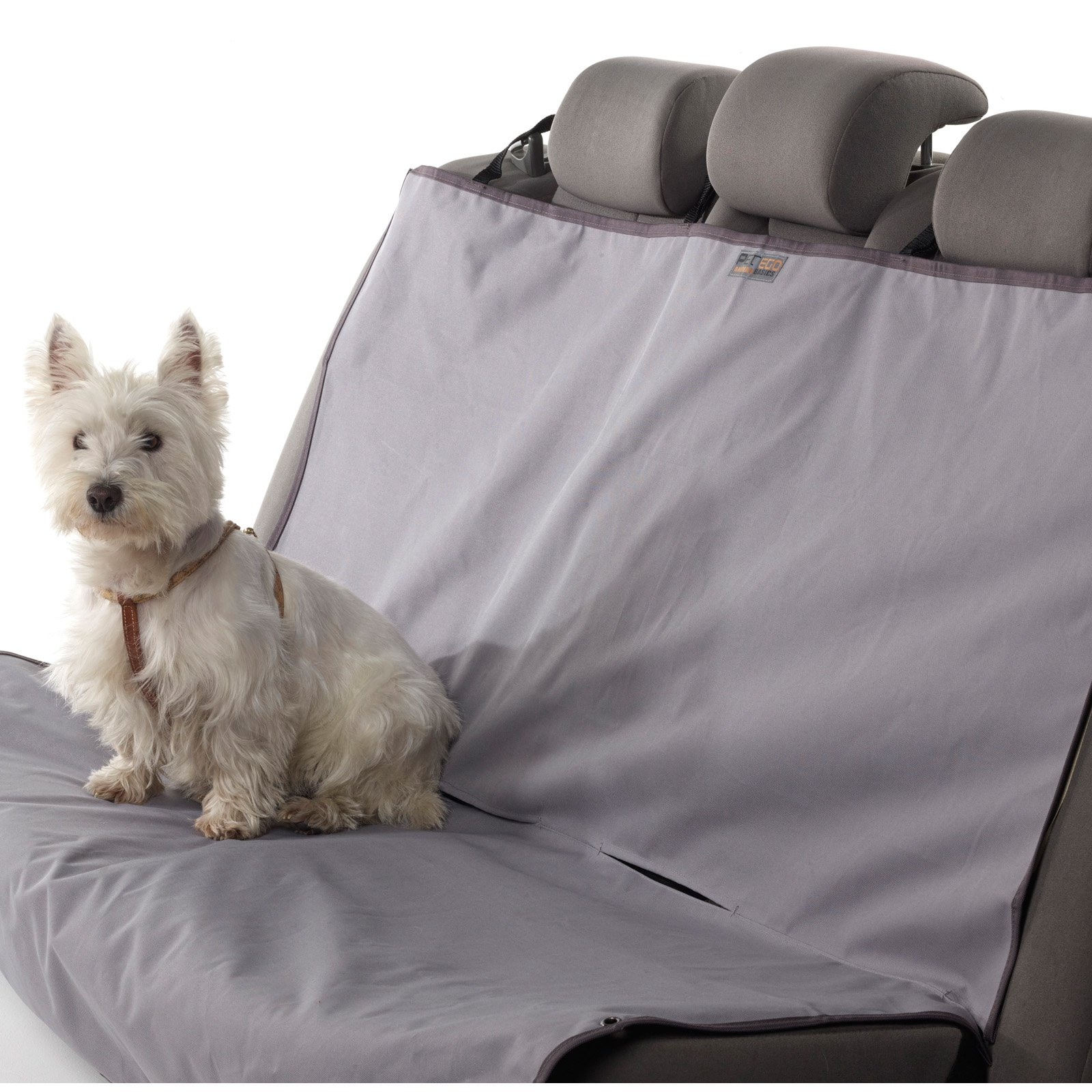 PETEGO Animal Basics Waterproof Rear Seat Pet Cover