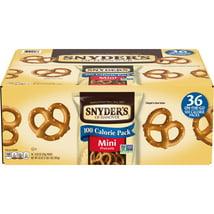 Pretzels: Snyder's 100 Calorie Mini Pretzels