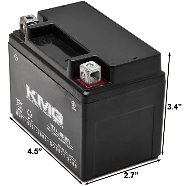 Honda CT70 Motorcycle Replacement Battery 1991-1994 This is an AJC Brand Replacement