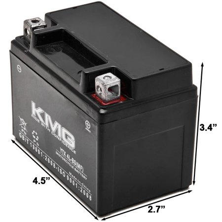 KMG Battery for Gas Gas 250 Pampera 1996-2001 YTX4L-BS Sealed Maintenance Free Battery High Performance 12V SMF OEM  Replacement Powersport Motorcycle ATV Scooter Snowmobile - image 1 of 3