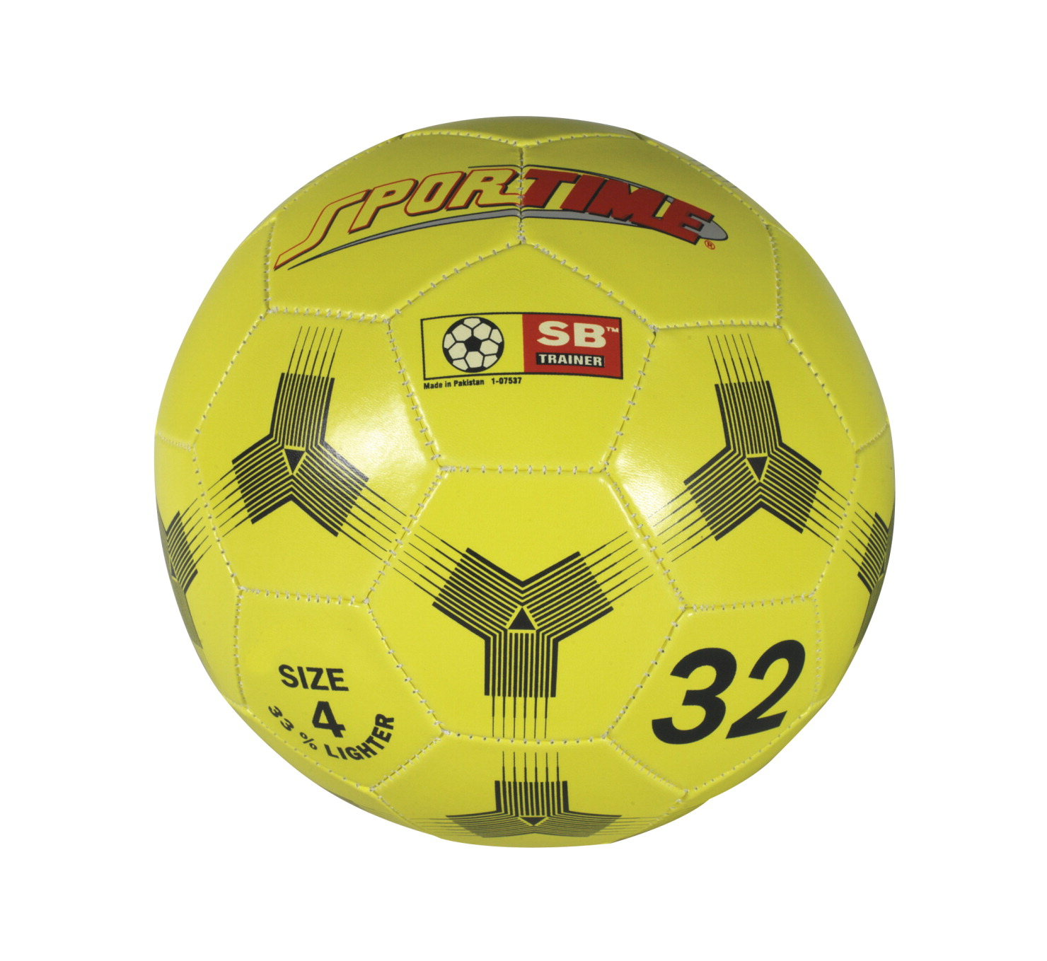 Sportime Number 4 Soccer Ball Trainer, 8 Inches, Yellow