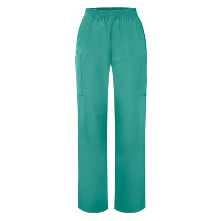 Red Gelscrubs Pant - Adar Universal Natural-Rise Comfort 4 Pkt Cargo Utility Tapered Leg Pants - 503 - Surgical Green - 4X
