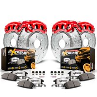 Power Stop KC6268-36 Z36 Truck & Tow Performance Brake Kit W/Calipers -Front & Rear