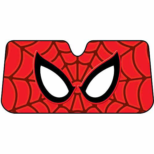 Plasticolor Sunshade, Marvel Spider-Man