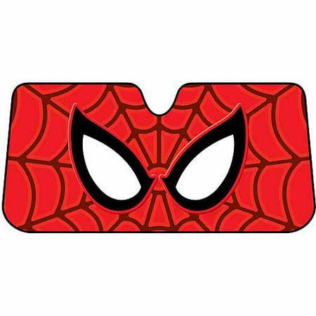 Plasticolor Sunshade, Marvel Spider-Man (Spiderman Shades)