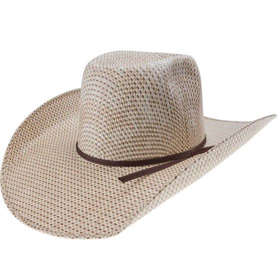 Rodeo King - Rodeo King Mens 3 Tone Open Crown 5 Brim Straw Cowboy ... 0e6d5c51cdf