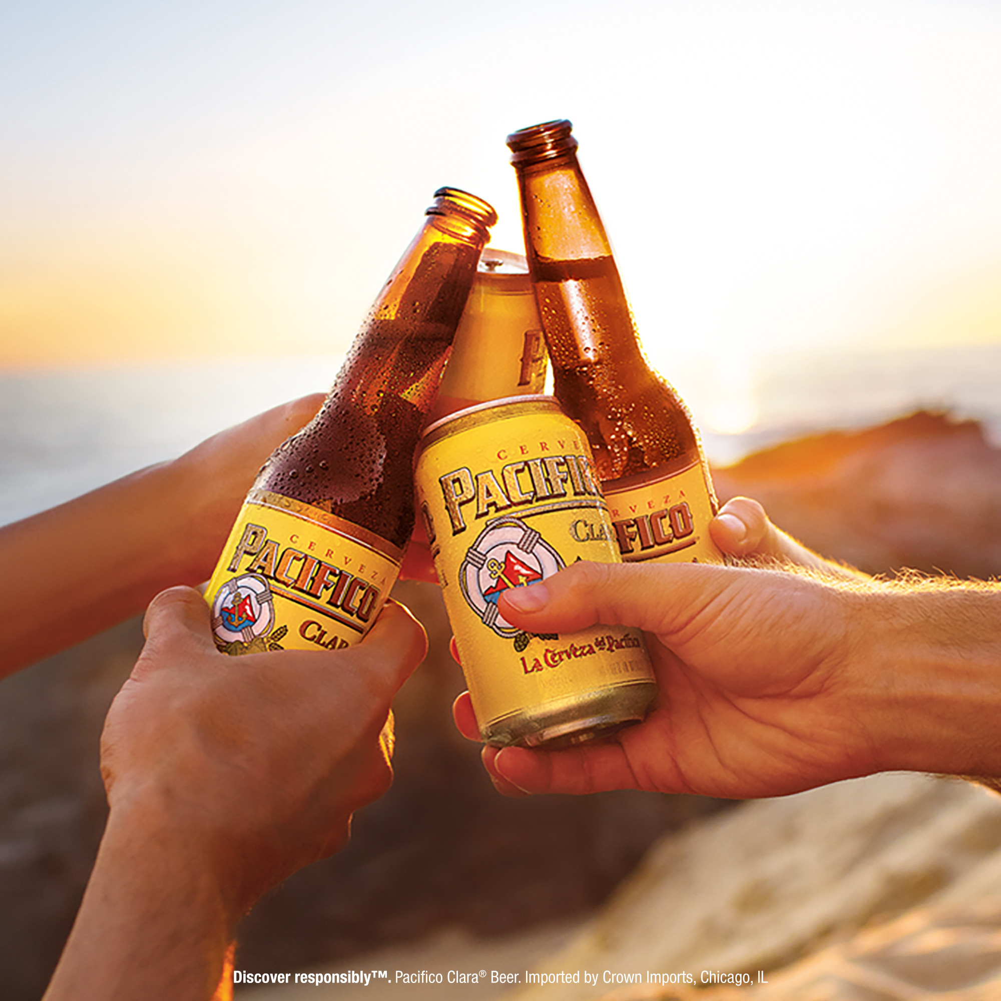 Pacifico Clara Mexican Import Beer 3 Pk 24 Fl Oz Cans 44 Abv