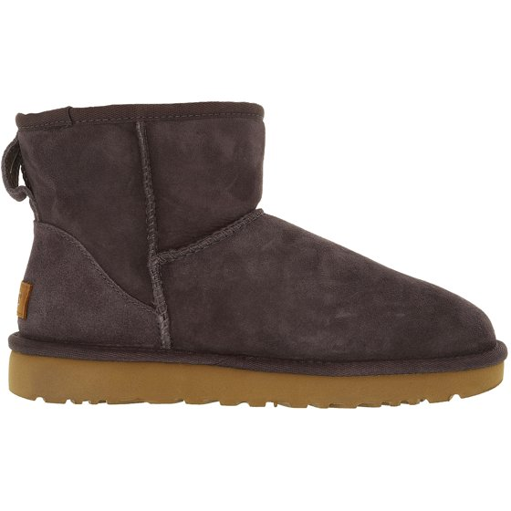 63fe20d40ff Ugg Women's Classic Mini II Leather Purple Ankle-High Suede Boot - 7M