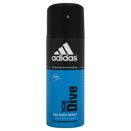 Adidas Mens Edt Spray - Adidas Ice Dive Deodorant Spray For Men 5 oz