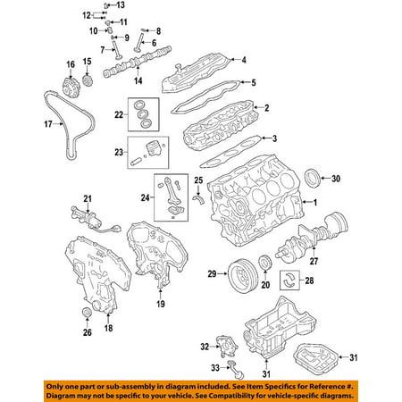 Nissan 13510-7Y000 Front Crankshaft Seal Nissan Frontier Xterra