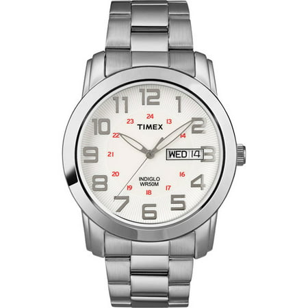 Click here for Timex Mens Highland Street Watch  Silver-Tone Stai... prices