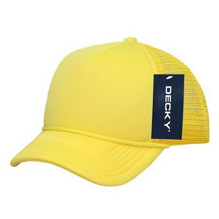 c9838472500 Decky - Decky 7010 Kids Foam Trucker Cap-Yellow - Walmart.com