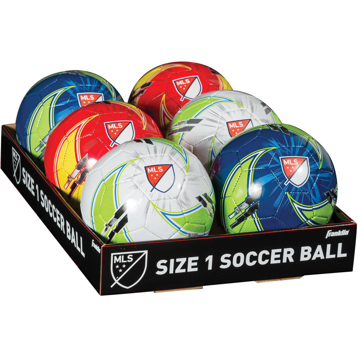 Franklin Sports MLS Size 1 Soccer Ball, Assorted Colors by Franklin Sports