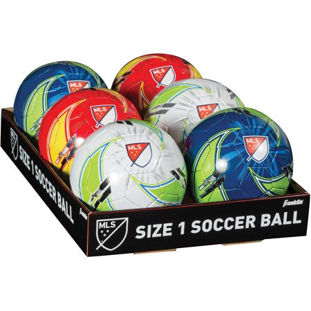 Franklin Sports Mls Size 1 Soccer Ball  Assorted Colors  1 Ball