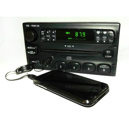 Ford Ranger 2000-2003 AM FM CD Radio w Aux mp3 3.5mm iPod Input - YW7F-18C815-CA - Refurbished